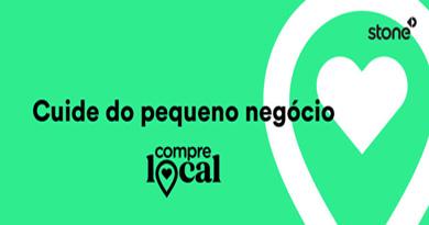 Campanha da Stone incentiva apoio ao comércio local
