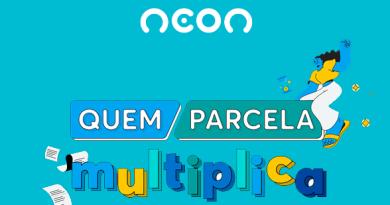 """Cartão Neon lança a campanha """"Quem Parcela, Multiplica!"""""""