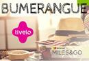 TAP e Livelo fazem promoção bumerangue