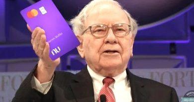 Warren Buffett faz aporte de US$ 500 milhões no Nubank